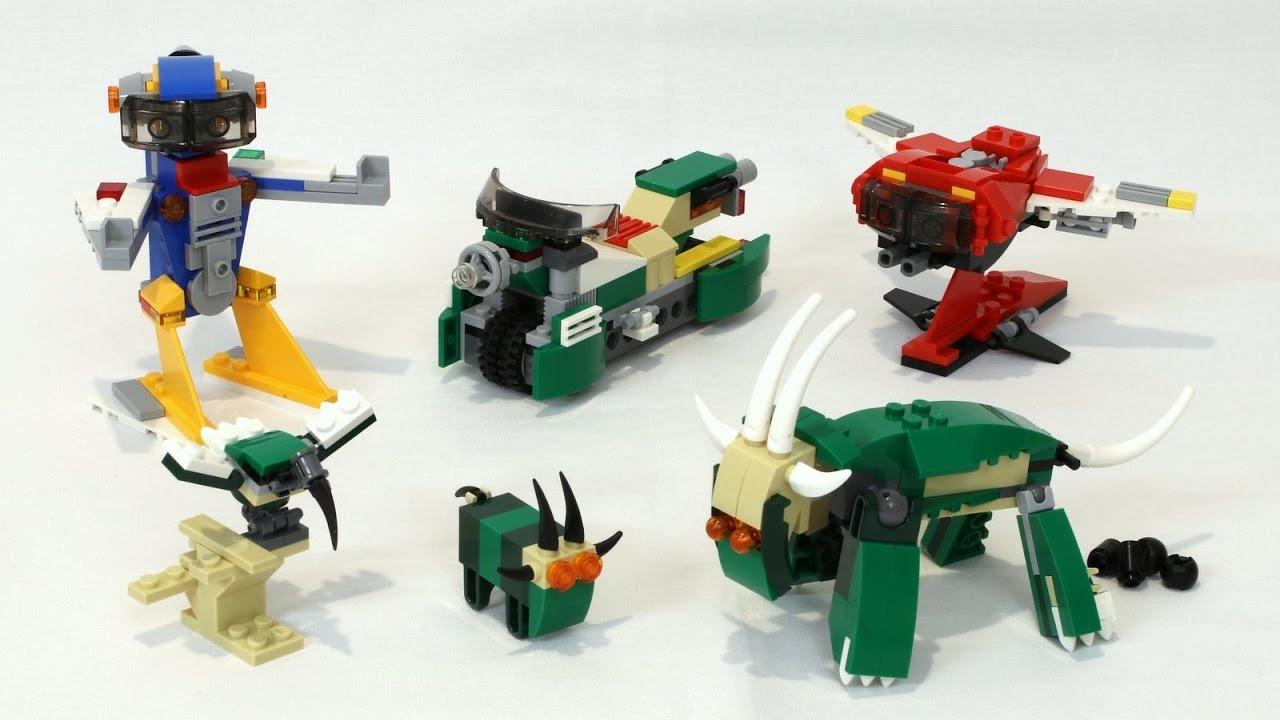 0fd6b1488 LEGO Creator 3-in-1 Alternate Models - YouTube