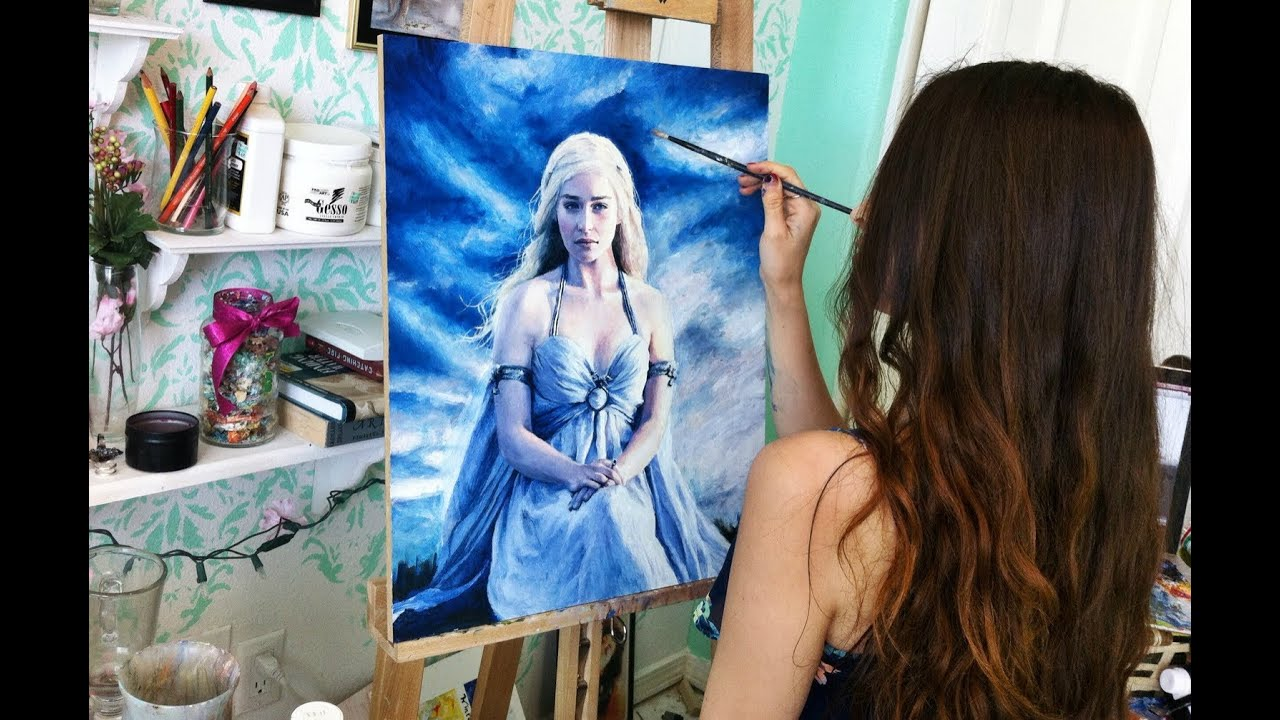 Game Of Thrones Painting