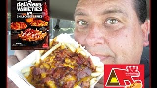 Wienerschnitzel's Triple Cheese Double Bacon Chili Cheese Fries Review!
