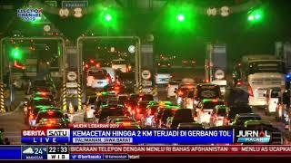 [304.87 KB] Penampakan Kemacetan Arus Mudik di Gerbang Tol Palimanan