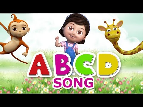 Nursery Rhymes - Alphabet Song - ABCD Rhymes for children - Animal ABCD Song for Kids Nursery rhymes