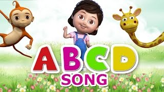 Nursery Rhymes - Alphabet Song | ABCD Rhymes for children | Animal ABCD Song for Kids Nursery rhymes