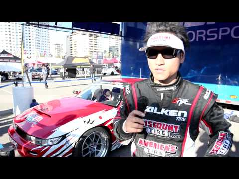 "Formula Drift Long Beach 2011: Dai Yoshihara ""Before The Podium"""