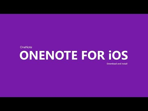 Use OneNote on iOS