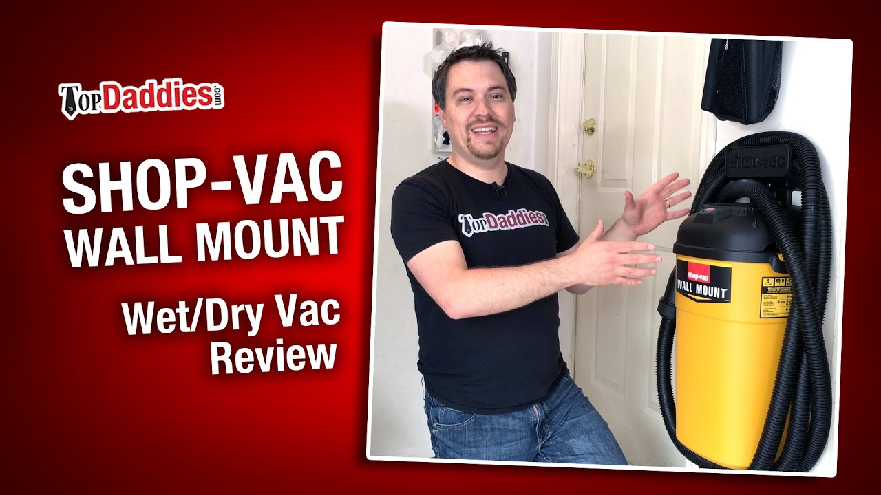 Shop Vac Wall Mount Wet Dry Vac Review Youtube