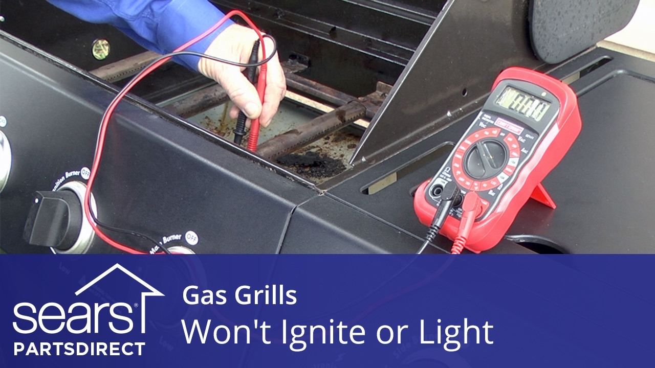 how to fix a gas grill that won t light