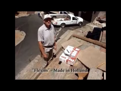 Installing Ceramic Tile Hips And Ridges On A Slate Roof