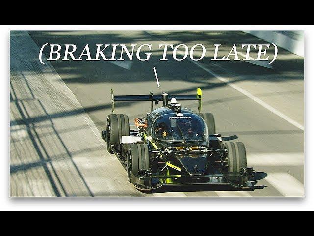 RYAN TUERCK: Pro Drifter vs Autonomous Race Car in Human + Machine Challenge