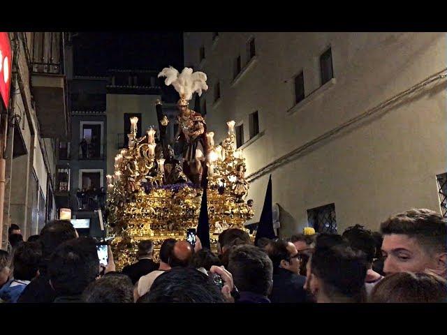 Stmo Cristo de las Tres Caídas Granada - Regreso Semana Santa 2018 / Miercoles Santo HD