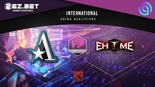 Aster Vs Ehome  T 9 Qualifiers  CH NA QUAL F ERS  Best Of 1