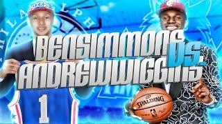 NBA 2K16 XBOX/PS4: CREATING A LEGEND: BEN SIMMONS! vs. Andrew Wiggins (EPISODE #1)