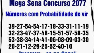 Mega Sena 2077 Concurso