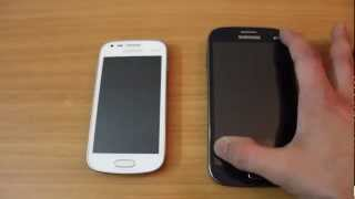 Galaxy Grand vs Galaxy S Duos comparison video
