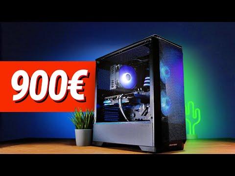900 - 1000€ GAMING PC 2021!! - Test & Zusammenbauen thumbnail