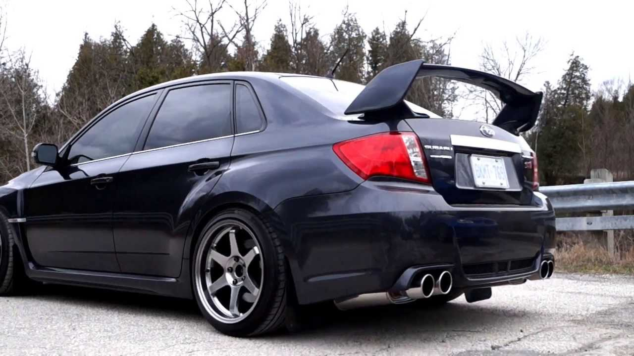 2011 Subaru Impreza Wrx Sti Invidia Q300 Exhaust Youtube