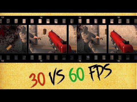 Насколько важен fps в игре. 60 vs 30 vs 15 FPS.