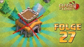 Let's Play CLASH OF CLANS ☆ Folge 27 ☆ KEIN RATHAUS 8!