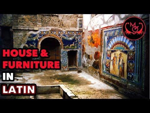 How to Speak Latin (House & Furniture) / De Latine Loquendo (Domus Suppellexque)