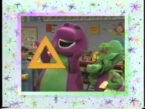Barney Says Segment (Red, Blue and Circles Too!) (Spanish Version)