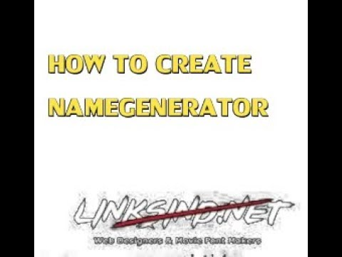 Download How To Create Name In Linksind MP3, MKV, MP4 - Youtube to MP3
