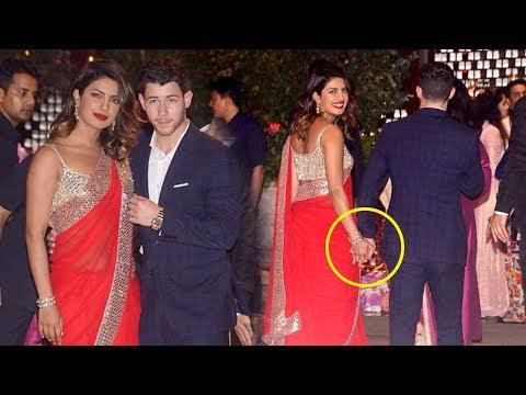 LIVE Priyanka Chopra & Bf Nick Jonas GRAND ENTRY At Mukesh Ambani's Son Akash Ambani's WEDDING