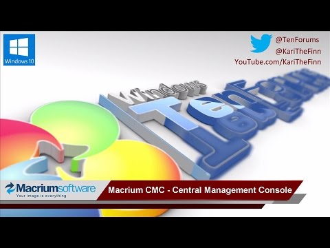 First look: Macrium CMC - Central Management Console