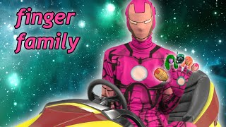ironman finger family song real life superheroes daddy finger rhyme for babies toddlers and kids