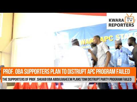 Prof Oba Supporters Attempts To Disrupts APC Stakeholders Meeting Failed (VIDEO)