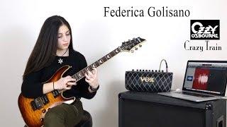 Crazy Train Ozzy Osbourne Guitar Cover - Federica Golisano 13 Year Old.mp3
