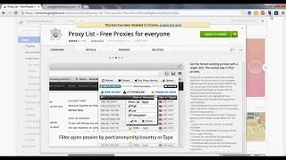 How to find free proxy server list(Get free Proxy from: ip-adress.com/proxy_list/ Don't forget to Subscribe and follow Follow : https://twitter.com/cabreuvano Facebook: ..., 2014-10-21T01:29:05.000Z)
