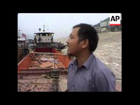 Affects of the construction of the Three Gorges Dam on shipping