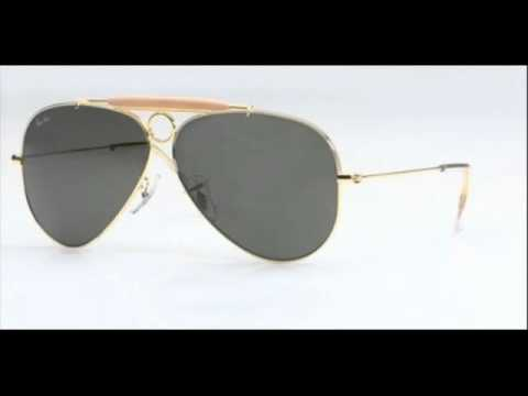 96b49ef3eb5 Ray Ban Aviator Arista Shooter RB 3138 001 Sunglasses. ShadesDaddy
