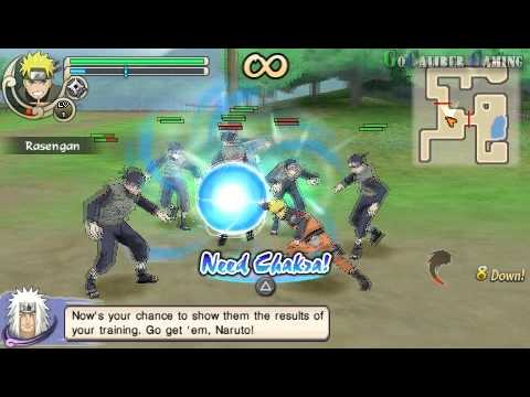 naruto shippuden ninja impact 2