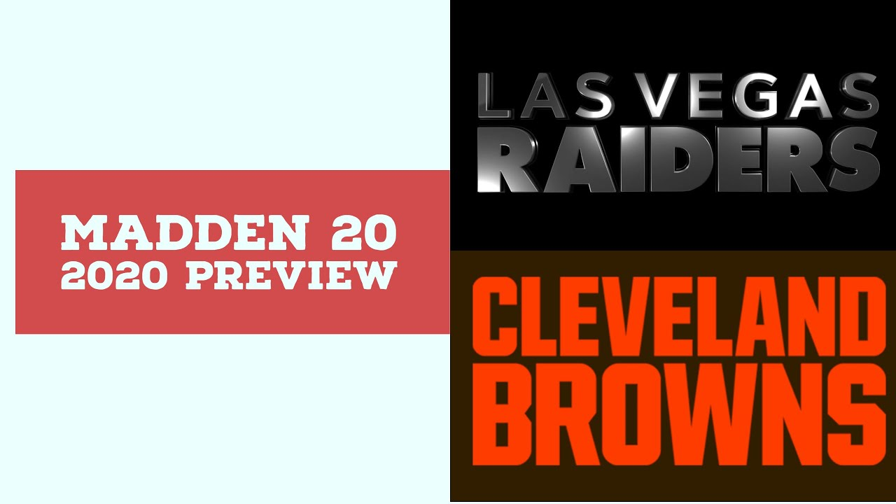 2020 Week 8 Preview - Las Vegas Raiders vs Cleveland Browns - Simulation Nation