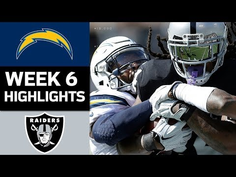 Download Youtube: Chargers vs. Raiders | NFL Week 6 Game Highlights