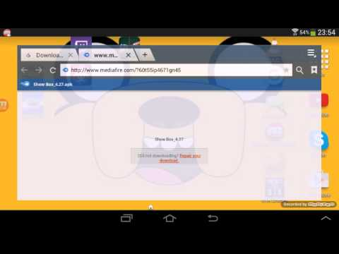 free showbox download for asus tablet