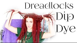 Dip dye dreadlocks | Dreadlock adventures