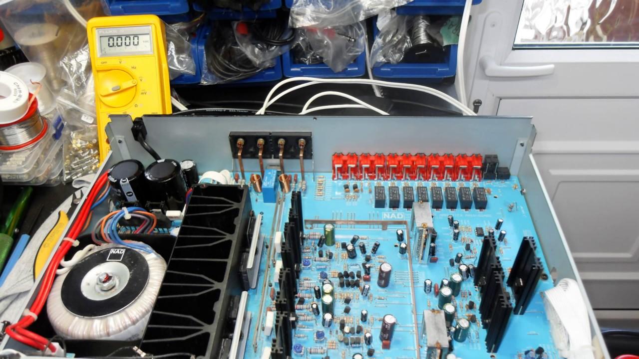 NAD C320BEE Amplifier Repair