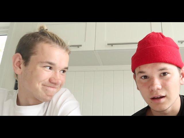 BLIND COOKING CHALLENGE!!! - Marcus & Martinus.