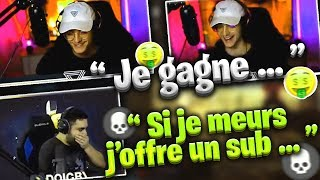 DOIGBY PAYE 10.000€ DE SUB 🤣 MUSHWAY DIT COMBIEN IL GAGNE 😱 (Fortnite Moments France)