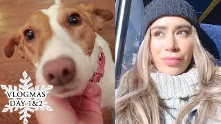 HEADING HOME! | Vlogmas day 1 & 2 in Canada