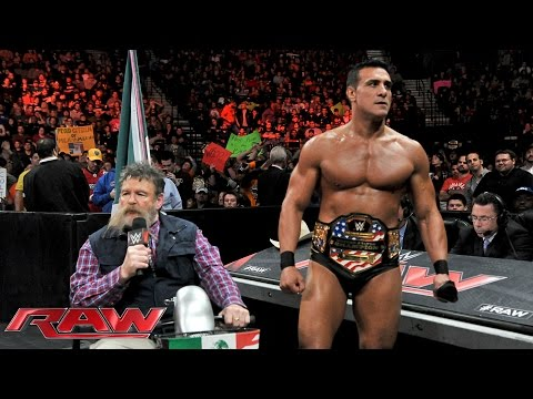 Jack Swagger interrupts Alberto Del Rio and Zeb Colter's State of MexAmerica Address: Raw, November