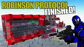 ROBINSON PROTOCOL FINISHED! | Empyrion: Galactic Survival | Let's Play Gameplay | S14E12
