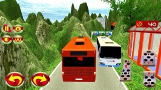 Passenger Bus Hill Station 3D - Bus Driving Game - Android gameplay