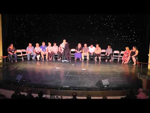 Matt Hale Comedy Stage Hypnotist meets the world's best hypnotist