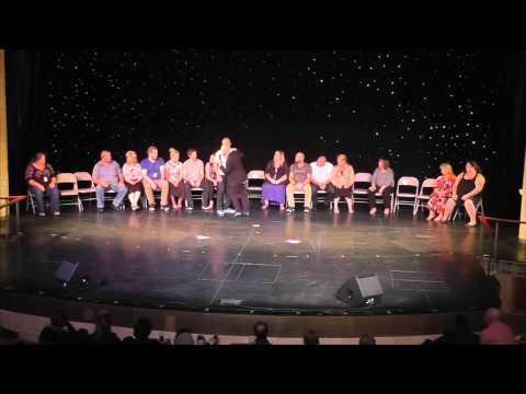 Matt Hale Comedy Stage Hypnotist meets the world's best hypnotist