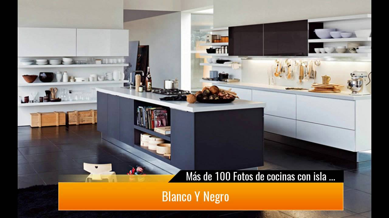 de 100 Fotos de cocinas con isla central - YouTube