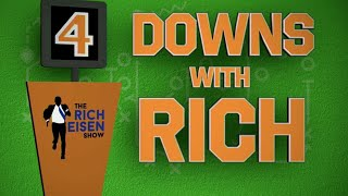 Four Downs with Rich: Eisen on Gronk, Lions, Browns, and Tanking for Trevor Lawrence | 9/29/20