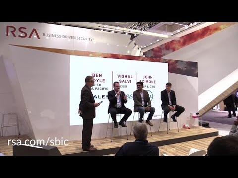 SBIC Panel Discussion: The Evolution & Revolution of the CISO (With Captioned Questions)