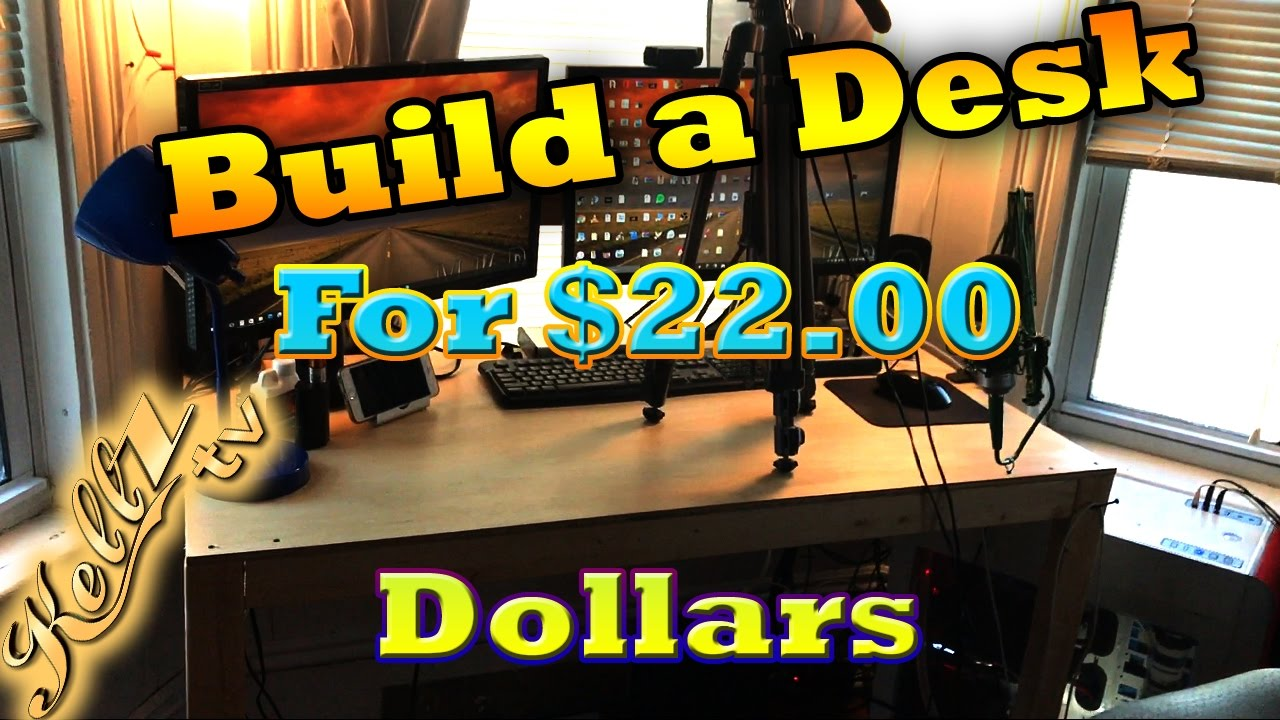 Gaming Setup Ideas Diy Desk Build The 22 You